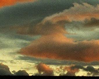 Cloudy Ridge - Fine Art Bookmark, 2x8.5