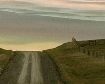 Dirt Road To Sky - Fine Art Bookmark,  2x8.5