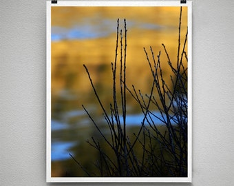 EVENING RIVER GLOW - 8x10 Signed Fine Art Photograph