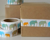 LAST ONE Elephants - Fancy Packing or Shipping Tape