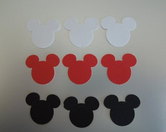 Mickey mouse paper punches qty 50