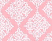 One (1) Yard - Linda Lace Pink by Michael Miller Fabrics CX5276-Bloom