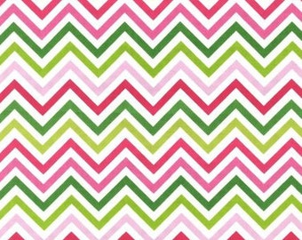 Nine (9) Yards - Zig Zag Remix Print by Ann Kelle AAK-10394-238 Garden