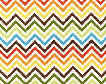 Five (5) Yards - Zig Zag Remix Print by Ann Kelle AAK-10394-237 Bermuda