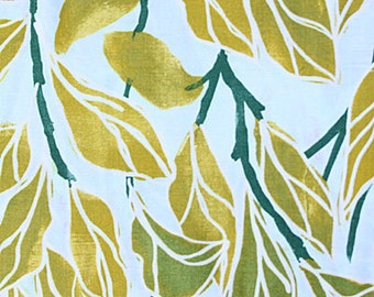 Fat Quarter- SALE - Climbing Vines Olive by Laura Gunn Collection Michael Miller DC2468-Olive