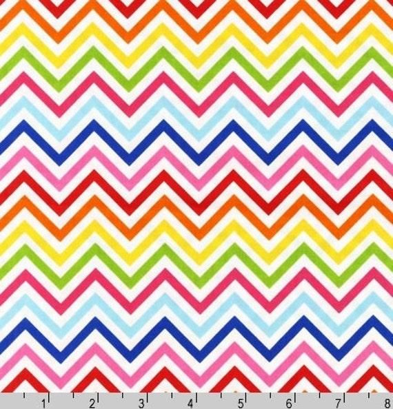 Two (2) Yards - Zig Zag Remix Print by Ann Kelle AAK-10394-195 Bright