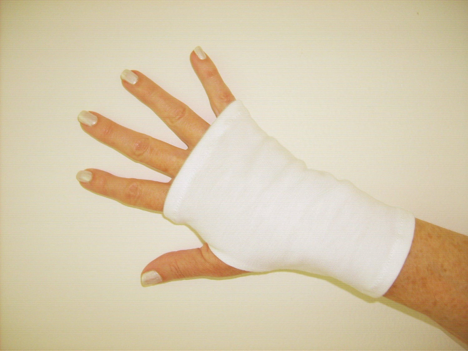 Fingerless Gloves Spf 50 Cotton Stretch One Size Fits All