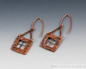 Brick Windows Earrings