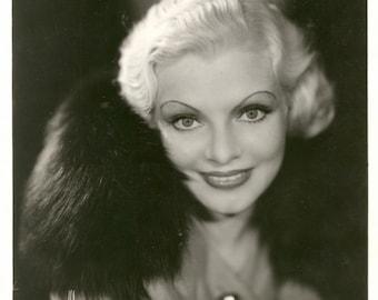 Vintage Photograph Portrait Claire Luce by Murray Korman, circa 1932