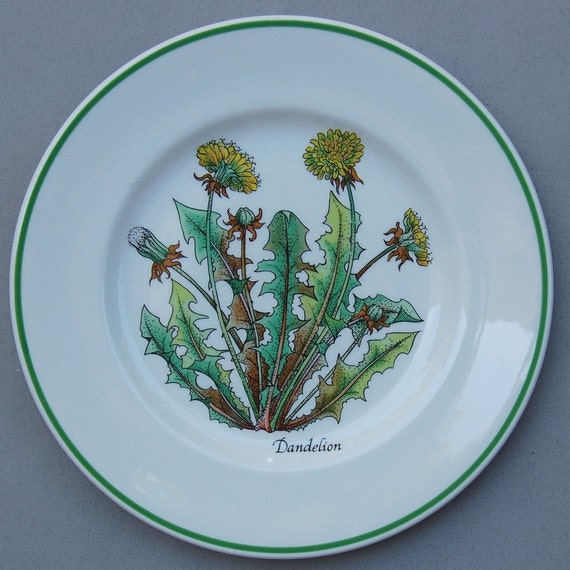 Wild Flowers Tiffany and Co. Salad Plate