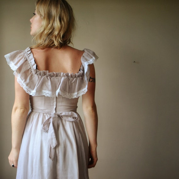 70s NOS Gunne Sax Dress, size xs/sm