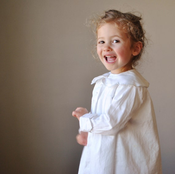 1960s Flower petal Collared coat, size 18-24 months