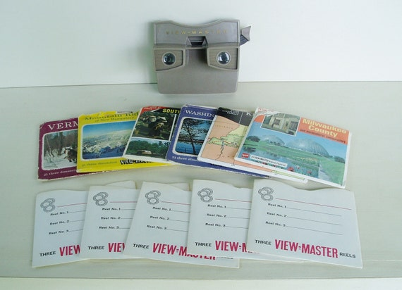 View Master with Reels Travel Vacation Vintage Viewmaster
