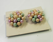 Vintage clip on earrings (free US shipping)