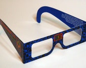 Planet Zero Limited Edition Sci Fi 3D Glasses Pulp Fiction inspired print