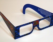 X Marks the Spot Limited Edition Sci Fi 3D Glasses Pulp Fiction inspired print