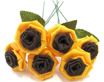 Sunflower Rose Bouquet