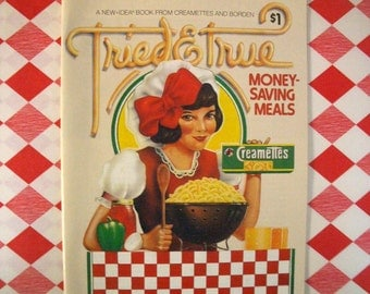 Vintage Cookbook - Money Saving Meals 1981