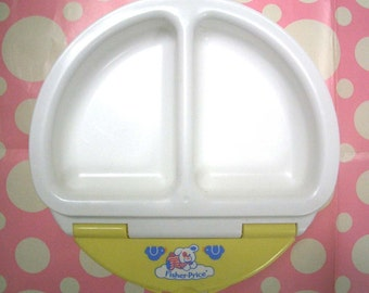 Vintage Baby Dish by Fisher Price