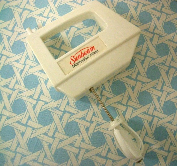 Toy Hand Mixer ~ Vintage toy hand mixer by chilton sunbeam