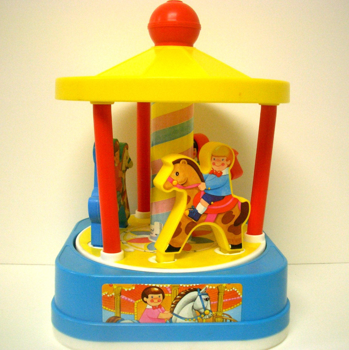 Vintage Chicco Musical Toy Carousel
