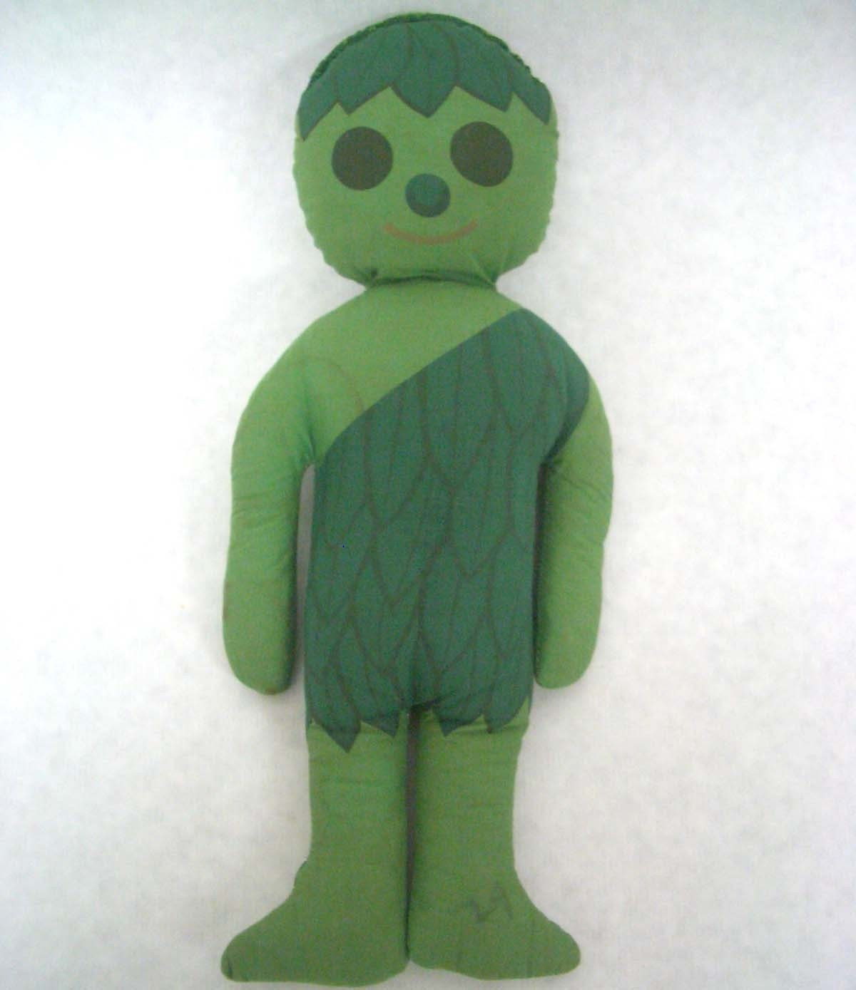 Vintage Jolly Green Giant Cloth Doll By Redesignkc On Etsy