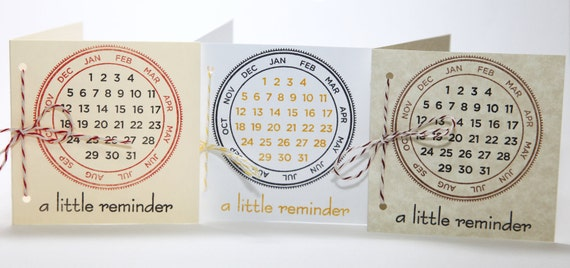 Unique Save The Date Cards / A Little Reminder