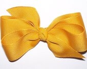 Gold Accordion Fold Bow