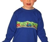 Long sleeve toddler t-shirt 2T, 3T, 4T - BUSY ROAD