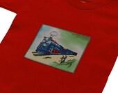 Toddler t-shirt 1, 2T, 3T, 4T or 5 - CHOO CHOO