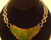 Celtic Enameled Necklace