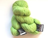 wool yarn destash lot....Cascade 220 color 8910 citron worsted weight...light chartreuse celedon green....international shipping