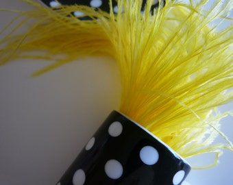 VOGUE OSTRICH  FRINGE / Canary Yellow / 388