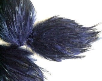 FEATHER PAD Dark Navy Blue / 76