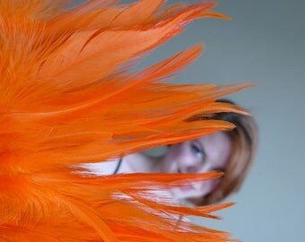 BELLA COQUE SADDLE ,   Exclusive  Quality  / Carrot Orange / 122