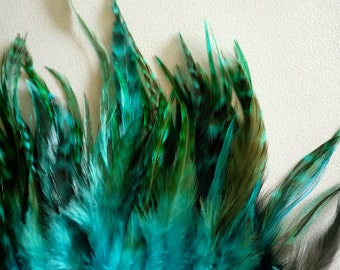 COUTURE Chinchilla Saddle /  Teal  Blue   /  2052