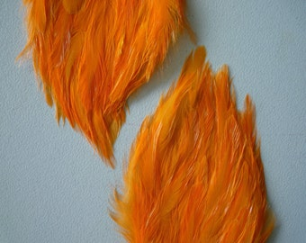 FEATHER PAD  Carrot Orange /  66