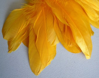 GOOSE NAGOIRE Loose Feathers, Mango Yellow  / 759
