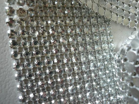 PRINCESS Rhinestone  Banding, Trim  /  Clear  w/ Flat Silver Back / 12 rows / PCC1236
