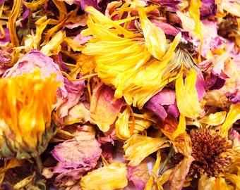 Rose/Calendula tea- 50 cups
