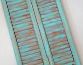 JEWELRY BOX SHUTTER - AQUA BLUE