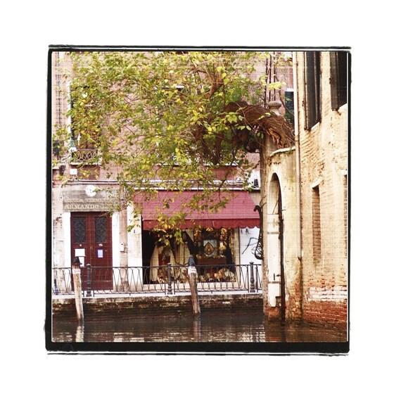 Venice Italy Photograph The Shop Around The Corner Fine Art City Travel Romance Vintage Style