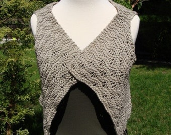 PDF pattern.  Little Waves Vest