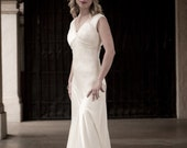Evelyn 1930's inspired wedding gown