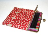 """Unique iPad and Kindle Fire HD 8.9"""" Clutch Case """"Wallflower"""""""