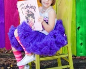Deep Purple Pettiskirt- Baby, Little Girl, Toddler, and Big Girl Sizes