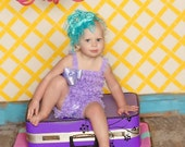 Pettiromper Petti Romper - Lace Ruffles - Lilac Purple - You Pick Size 12 18 2t 3t 4 5 6 - Pair with a Pettiskirt