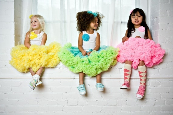 Sweetheart Pettiskirt - Your choice of colors and sizes