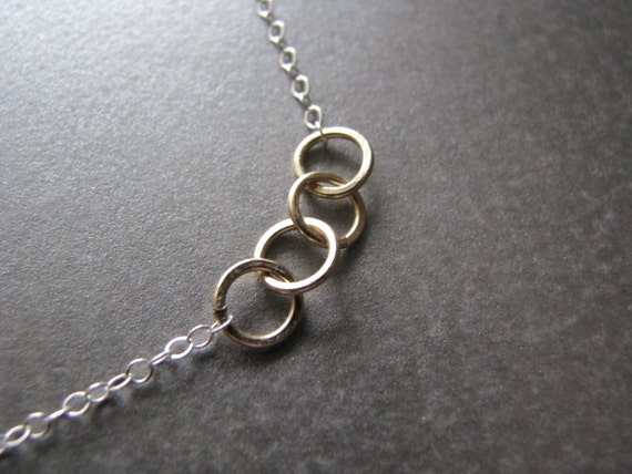 Karma Necklace - What Goes Around, Comes Around