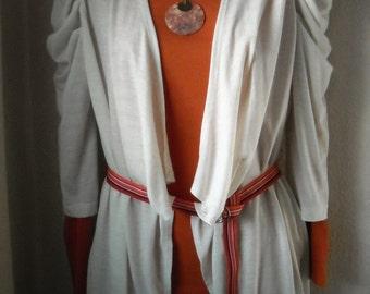 Orange Ribbon Belt/D Ring Belt/Gift for Her/Grosgrain Ribbon Belt/Spring Break Style/Stripe Ribbon Belt/Summer Belt/Carnival Ribbon Belt